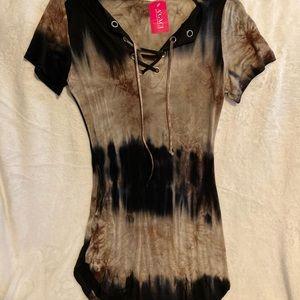 Tye Dye Bodycon Dress